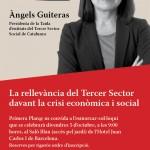 Angels Guiteras conferenciante en el Primera Plana