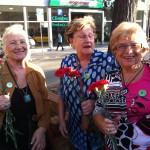 Flors en motiu de la celebració 1 octubre