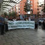 pancarta Dia internacional de la Gent Gran