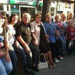 participants a la marxa en motiu de l'envelliment actiu