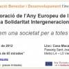 Conmemoración del Año Europeo del Envejecimiento Activo y la Solidaridad Intergeneracional