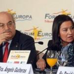 Forum Europa Tribuna Catalunya Angels Guitersa i Andreu Mas Colell