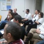 Els professionals del CAS de Sants presents en el lliurament de títols