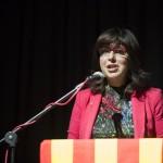 Crisitina Iniesta, delegada de Salut i presidenta de l'ASPB