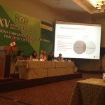 Josep Rovira director del area de drogas en el XV seminario de RIOD