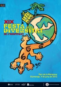Cartell Festa de la Diversitat L'H