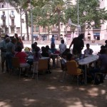 Festa major a la pla Folch i Torras