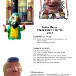 Programa de la Festa Major de la pl Folch y Torras