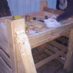 Construccio de la banyera