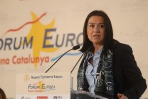 Intervenció d'Àngels Guiteras al Fòrum Europa-Tribuna Catalunya al 2012