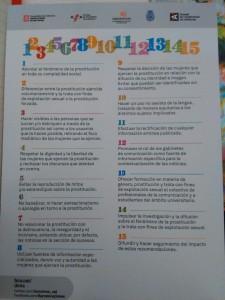 Las 15 recomendaciones