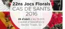 26 de abril: Juegos Florales del CAS de Sants