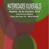 Participamos en la Jornada 'Maternidades Vulnerables', 20 de octubre de 2016